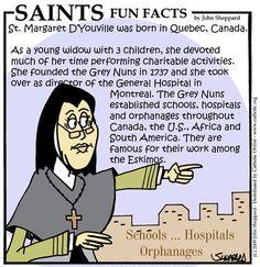 St. Marguerite dYouville - Saints & Angels - Catholic Online