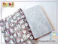 Como encapar caderno com tecido passo a passo
