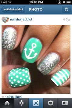 1000+ images about Nail Designs! on Pinterest | Infinity ...