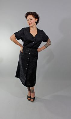 1950s Vintage DressSEE ONLY YOU Summer Fashion by stutterinmama, $86.00