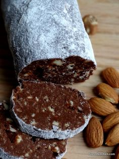~Salame di Cioccolato Amaretto~       | Big Red Kitchen - a regular gathering of distinguished guests