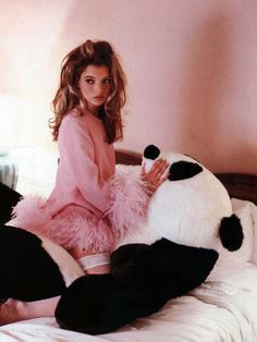 kate moss photographed by lance staedler. glamour france, 1992.
