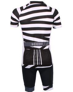 1de6ac9bf SCODY Asylum Black White Performance Cycle Jersey