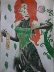 Drawing by: Samantha_K_ - Poison Ivy
