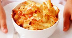 Gruyere, parmesan and sharp cheddar give tonight's vegetarian macaroni bake a double dose of flavour.