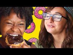 Doughnut Shop Telephone Taste Test - YouTube