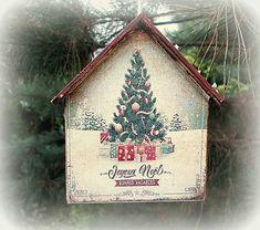 agir / Vianočná ozdoba Bird, Christmas Ornaments, Holiday Decor, Outdoor Decor, Home Decor, Decoration Home, Room Decor, Birds, Christmas Jewelry