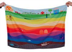 Weegoamigo Baby Adventure Blanket - Subteralien
