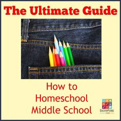 The Ultimate Guide to How to Homeschool Middle School @Education Possible Looking for help to homeschool middle school? We have gathered more than 100 tips, resources, words of encouragement, curriculum ideas, and more, to help you figure out how to homeschool teens.