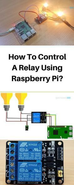 How to Control a Relay using Raspberry Pi Technology Diy Electronics, Electronics Projects, Amazon Echo, Projetos Raspberry Pi, Raspberry Computer, Esp8266 Arduino, Pi Computer, Computer Science, Raspberry Projects