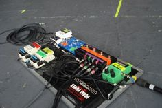Colin Meloy's (The Decemberists) pedalboard