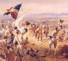 The Victory of Montcalms Troops at Carillon by Henry Alexander Ogden - Louis-Joseph de Montcalm — Wikipédia