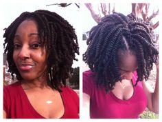 Kinky twists/Nubian twists crochet braids