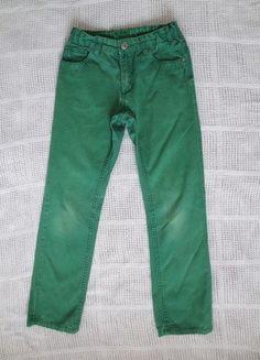 Kaufe meinen Artikel bei #Mamikreisel http://www.mamikreisel.de/kleidung-fur-jungs/jeans/38471759-color-jeans-fur-jungs-grun-gr-140