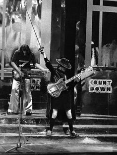 Angus Young - AC/DC - With a Zorro custome - 1974-12-14 - AUS, Melbourne, Ripponlea, Countdown TV Show