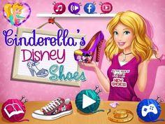 Cinderella`s Disney Shoes - Game Tutorial 2016