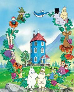 "Anime Nostalgia, the thread. I think everything shown in this thread was in my Blockbuster video's ""foreign"" animation section. Best Cartoons Ever, Cool Cartoons, Moomin Wallpaper, Strange Adventure, Moomin Valley, Illustration Noel, Tove Jansson, Animation, Kawaii Anime"