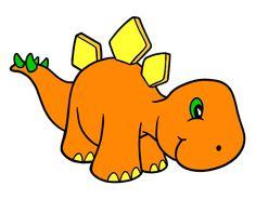 Dinosaurios animados tiernos - Imagui