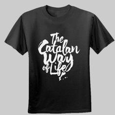 Camiseta personalizada The catalan way of life