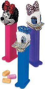bookofjoe: Swarovski Crystal Mickey Mouse Pez Dispenser