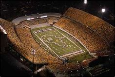 Home of the WVU Mountaineers - Milan Puskar Stadium - Morgantown West Virginia - My Hometown.