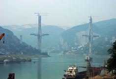 2012 High Bridge Trip Photo Album/Week 2 - HighestBridges.com Wujiang River Fuling Bridge