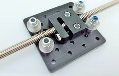 Anti-Backlash Nut Block for 8mm Metric Acme Lead Screw - robocutters.co.uk
