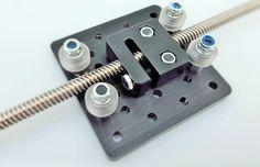 Anti-Backlash Nut Block for 8mm Metric Acme Lead Screw - robocutters.co.uk