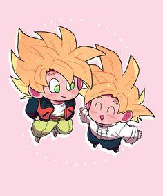Goku and Gohan Goku And Gohan, Dbz, Son Goku, Ghibli, Steven Universe, Dragon Ball Z, Disney Pixar, Chibi Goku, Spiderman