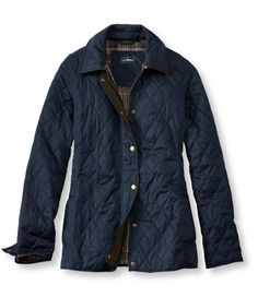 Women's Quilted Riding Jacket | Free Shipping at L.L.Bean