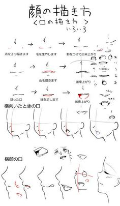 Drawing Faces Side View Character Design Ideas For 2019 - - Manga Drawing Tutorials, Manga Tutorial, Drawing Techniques, Art Tutorials, Drawing Reference Poses, Drawing Poses, Drawing Tips, Anime Drawings Sketches, Anime Sketch