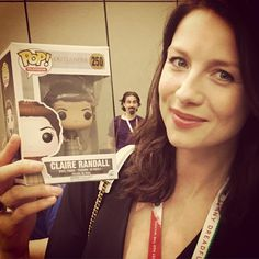 Here are some pics that Caitriona Balfe took on Outlander's Instagram account at San Diego Comic-Con 2015. We'll keep adding, so keep checking back.  More after the jump!  - Source: Outlander Starz...