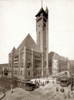View of Union Station from Eighteenth and Market Streets. (1904)