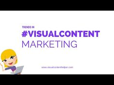 Find out what's trending in #visualcontent marketing from our video.