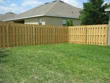 Custom wood saddled fence for front sidewalk entrance by mossy oak custom wood saddled fence for front sidewalk entrance by mossy oak fence company orlando and melbourne fl custom fence designs pinterest fences workwithnaturefo