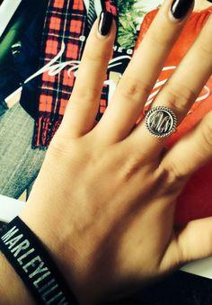 Marley Lilly Monogram ring