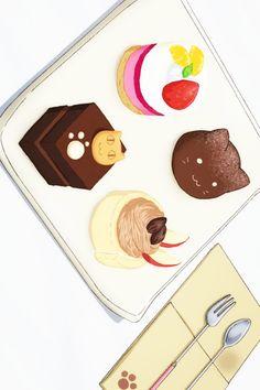 Acchi Kocchi Hatch Potch Cakes. I NEED TO MAKE THESE!! *ahem* please