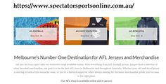 Spectator sports provide you a wide range of football jerseys and fremantle dockers store, gold coast suns shop, lions shop and merchandise for all your favourite football team players. For more details visit https://www.spectatorsportsonline.com.au/