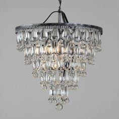 8 heads / 8 lamps iron pendant light