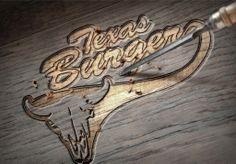 segunda propuesta de logotipo de texas burger hecho por la agencia de publicidad  marketing diseño gráfico y paginas web en veracruz, link diseño e imagen