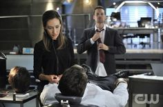 "Nikita -- ""The Swords Edge"" -- Pictured (L-R): Maggie Q as Nikita and Shane West as Michael -- Credit: Ben Mark Holzberg/The CW -- © 2012 The CW Network. All Rights Reserved."