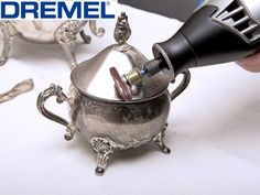 The Dremel 4000 multi tool helps many jewellery makers save time by using one handy tool for effective grinding, buffing, and cutting.