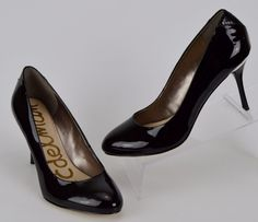 Sam Edelman Camdyn Women's Size 8 M Black High Heels #SamEdelman #PumpsClassics #WeartoWork