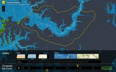 stamen design | Grasses, Watermen & Bathymetry | Interactive maps of Chesapeake Bay Grasses for the EPA