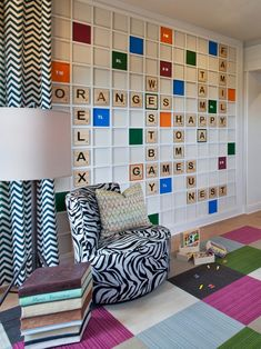 Don't have extra square feet to devote to a full-time playroom? Check out these fun and stylish solutions for adding a play area to your kid's bedroom, a home office and more. Game Room Design, Playroom Design, Playroom Decor, Bedroom Decor, Playroom Ideas, Teen Bedroom, Bedroom Ideas, Bedroom Stuff, Basement Ideas