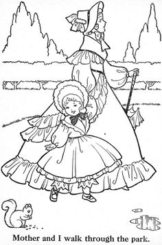Coloring Book~Blue Ribbon - Bonnie Jones - Picasa Web Albums Mandala Coloring Pages, Animal Coloring Pages, Coloring Pages To Print, Coloring Sheets, Coloring Pages For Kids, Coloring Books, Umbrella Girl, Applique Patterns, Couture