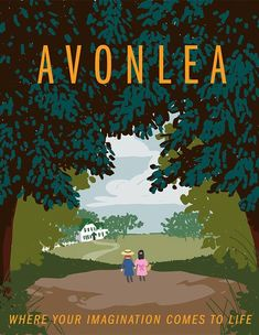 Travel to Avonlea by starlightgenie on deviantART Anne Shirley, Anne Auf Green Gables, Lm Montgomery, Anne With An E, Kindred Spirits, Prince Edward Island, Classic Books, Vintage Travel Posters, Golden Age