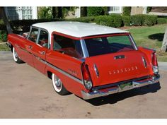 "More1958 Chrysler New Yorker Town & Country wagon by That Hartford Guy, via Flickr. Make American cars look more like this and less like, ""What kinda Toyota is that?"""
