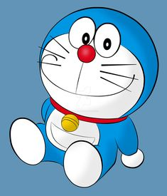 doraemon by engr-meab on DeviantArt Doremon Cartoon, Cartoon Drawings, Cartoon Characters, Doraemon Wallpapers, Cute Cartoon Wallpapers, Easy Disney Drawings, Easy Drawings, Doraemon Stand By Me, Onii San