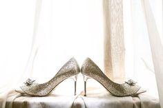 Pair of jimmy choo shoes   #shoes #jimmychoo #wedding shoes #weddingday #heels